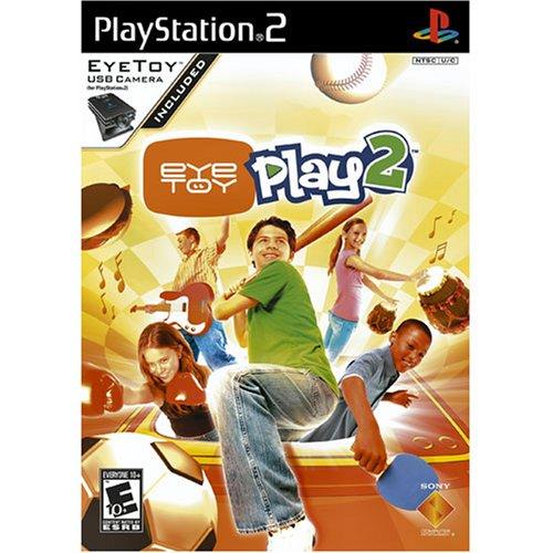 Eye Toy Play 2 with Camera - PlayStation 2 (Playstation 2 Eye Toy Play)