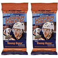 $21 » 2 PACKS: 2020/21 Upper Deck Series 1 NHL Hockey FAT PACK (26 cards/pk)