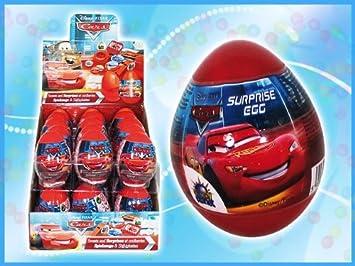 18 Stk In Display Überraschungs Ei Cars Suprise Egg SPIELZEUG MIT ...