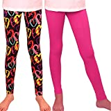 Best Heart Girls - Syleia Girl Leggings High Rise 2 Pairs Patterns Review