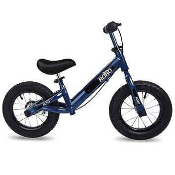 Bicicleta sin pedales Bici Bicicleta Blue Balance con Frenos - No pedalear Bicicleta Grande con Ruedas de 12 Pulgadas Neumáticos neumáticos: Amazon.es: ...