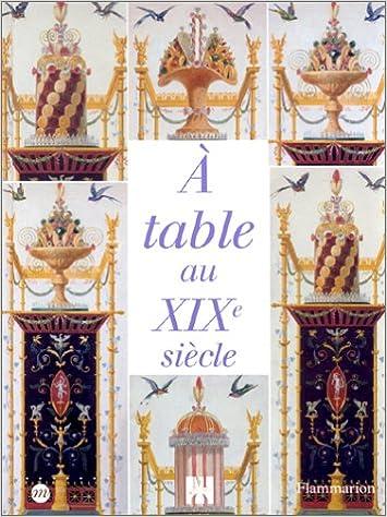 A table au XIXe siècle pdf