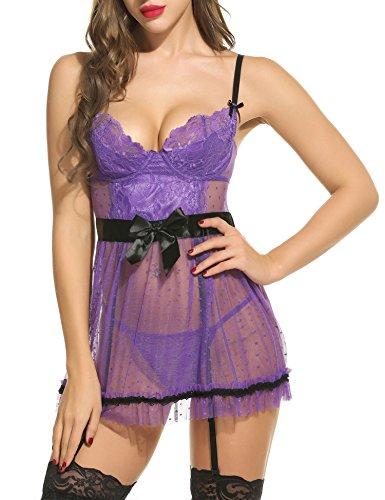 Ribbon Halter Dot Dress - 6