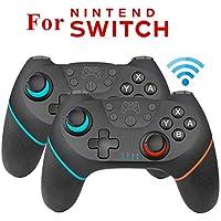 RONSHIN - Mando a Distancia inalámbrico para Consola Nintendo Switch (1/2 Unidad), 2 Piezas