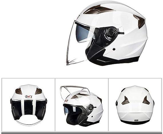 Amazon.es: Cascos De Motocicleta Para Hombres Y Mujeres Medio ...