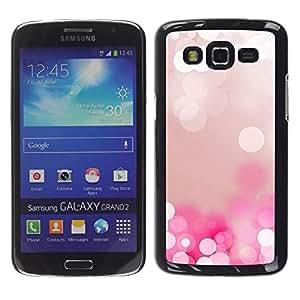 Be Good Phone Accessory // Dura Cáscara cubierta Protectora Caso Carcasa Funda de Protección para Samsung Galaxy Grand 2 SM-G7102 SM-G7105 // White Water Pearl Ice Reflection