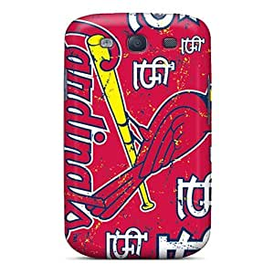 Galaxy Case - Tpu Case Protective For Galaxy S3- St. Louis Cardinals