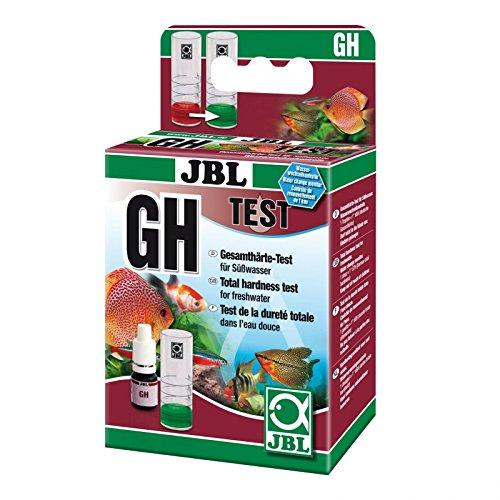 JBL GH Test-Set, Test rapide pour déterminer la dureté totale de l'eau dans les aquariums d'eau douce et les bassins 2535000