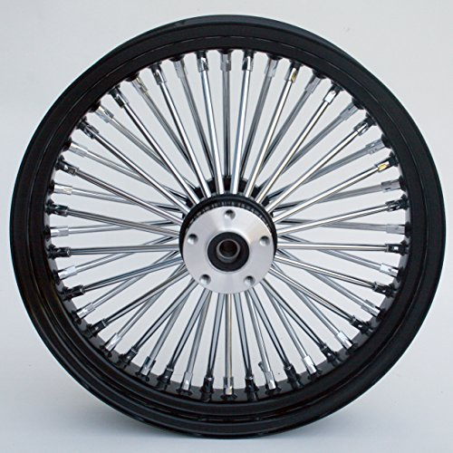 Black Chrome Harley Wheels - 9