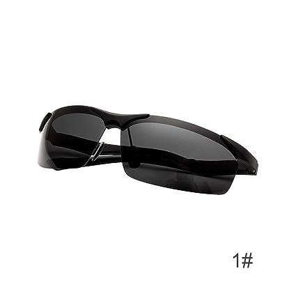 Calistouk - Gafas de sol polarizadas para hombre con protección UV para conductores y gafas de