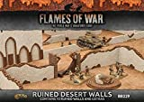 Flames of War 4th Edition Battlefield in a Box: Ruined Desert Walls BB229