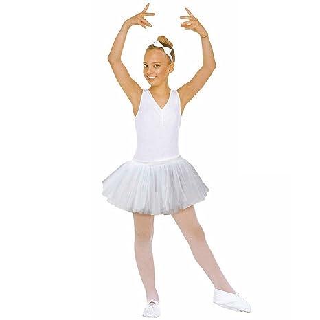 fbfc727e19f3a NET TOYS Tutu Pour Enfant Jupette de Ballerine Blanc Déguisement de Ballet  Tenue de Danse Ballet