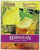 NOH Foods of Hawaii Hawaiian Iced Tea 4-Count, 3 Ounce Units (Pack of 6)