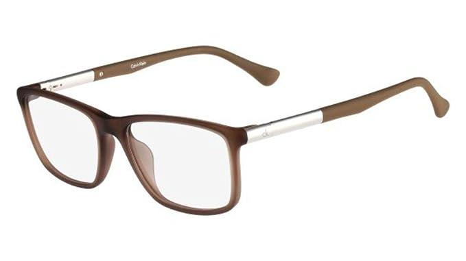 f3d9be912fd1 Eyeglasses CK 5864 200 ESPRESSO at Amazon Men's Clothing store: