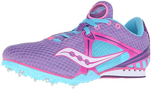 5 8 B Saucony Purple Uk 42 5 pink m blue Track light Velocity Womens Eu Shoe OBC4z