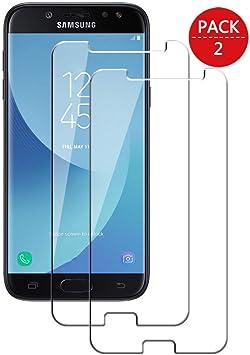 MaxQual, Compatible con Cristal Templado Samsung Galaxy J7 Pro ...