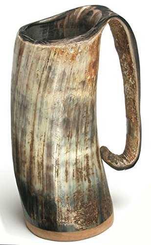 Jelling Dragon Horn Beer Mug / Tankard up to 1 pint (400 - 500ml)