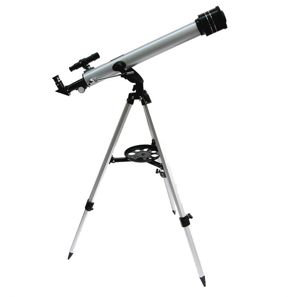【ネット限定】 屈折望遠鏡 60 60 mm、アルミ合金の三脚と多くの付属品と放心状態のための望遠鏡 B07MNDC1HK, GasOneShop:4f757268 --- a0267596.xsph.ru