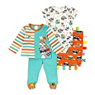 Taggies Baby Boy 3-Piece Apparel Set + Blanket (New Born)