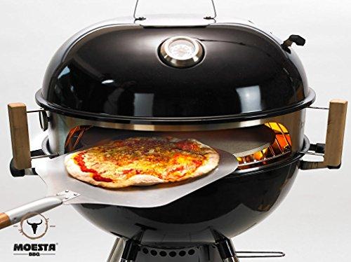 Weber Holzkohlegrill Pizza : Moesta bbq smokin pizzaring für kugelgrill für 57cm kugelgrills
