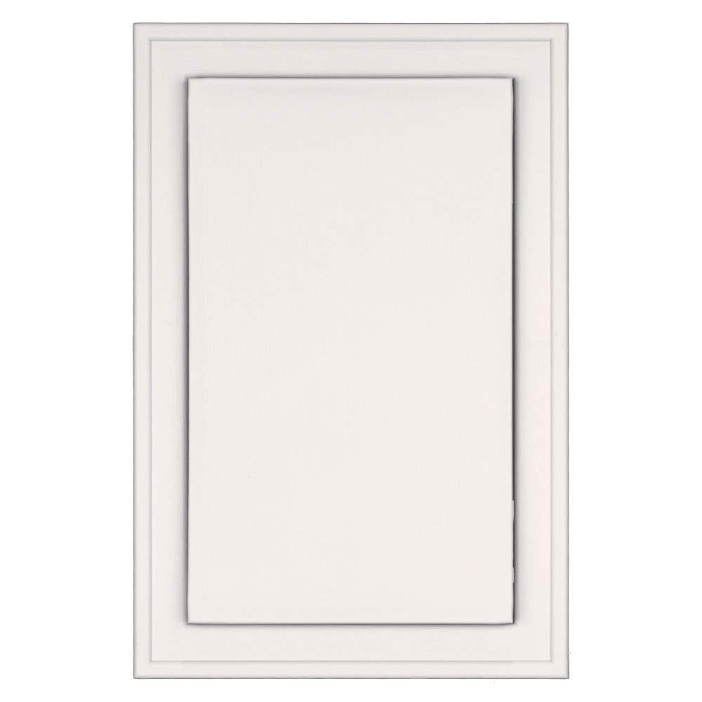 Builders Edge 130120001117 Mounting Block Bright White