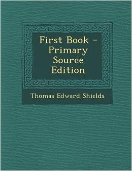 Book First Book