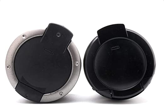 YJ-accessories Car Ashtray Short Low and Small Short Ashtray Cover Plate can Cover The Cover car Interior Ashtray