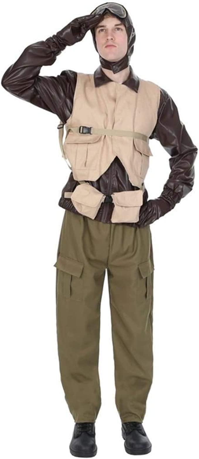 Male WW2 Fighter Pilot Adult Costume