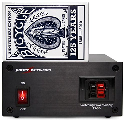 Powerwerx SS-30DV 30Amp Desktop Switching Power Supply with Powerpoles