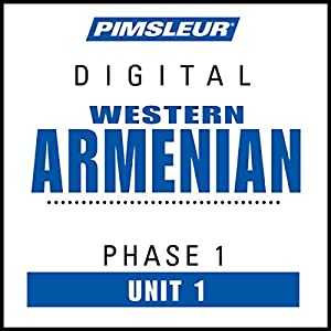 Armenian (West) Phase 1, Unit 01 Audiobook