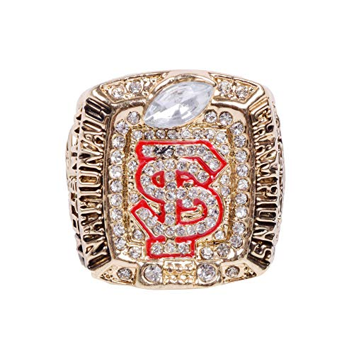 (GF-sports store Replica Championship Ring for 2013 Florida State Gift Fashion Gorgeous Collectible)