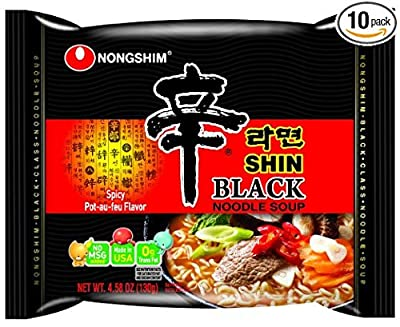 Nongshim Shin Black Noodle Soup