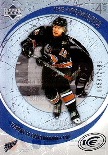 (CI) Tomas Fleischmann Hockey Card 2005-06 UD Ice (base) 210 Tomas Fleischmann