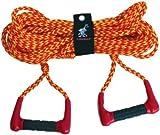 AIRHEAD Double Handle Ski Rope, AHSR-6, Waterboard Water Skiing Wake Wave Tricks