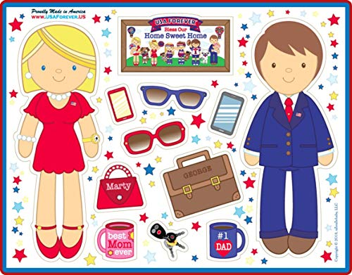 USA Forever All-American Family Magnetic Play Sets & Puzzles Collection by USA Forever (Image #6)