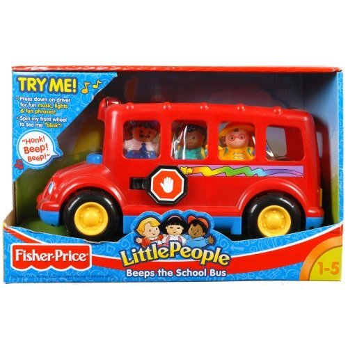 Fisher Price Little People Beeps The Musical School Bus: Amazon.co ...