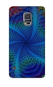 Ideal Gift - Tpu Shockproof/dirt-proof Abstract Mind Teaser Cover Case For Galaxy(s5) With Design