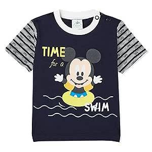 Disney Navy Printed T-Shirt -