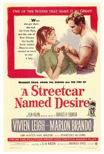 Amazon.c: A Streetcar Named Desire Poster 27x40 Vivien Leigh ...