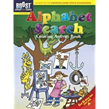 BOOST Alphabet Search Coloring Activity Book (BOOST Educational Series)