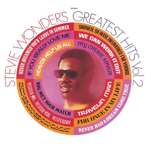 Stevie Wonder's Greatest Hits, Vol.2 (Best Of Stevie Wonder Cd)