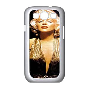 YUAHS(TM) Personalized Hard Back Cover Case for Samsung Galaxy S3 I9300 with Marilyn Monroe YAS115595