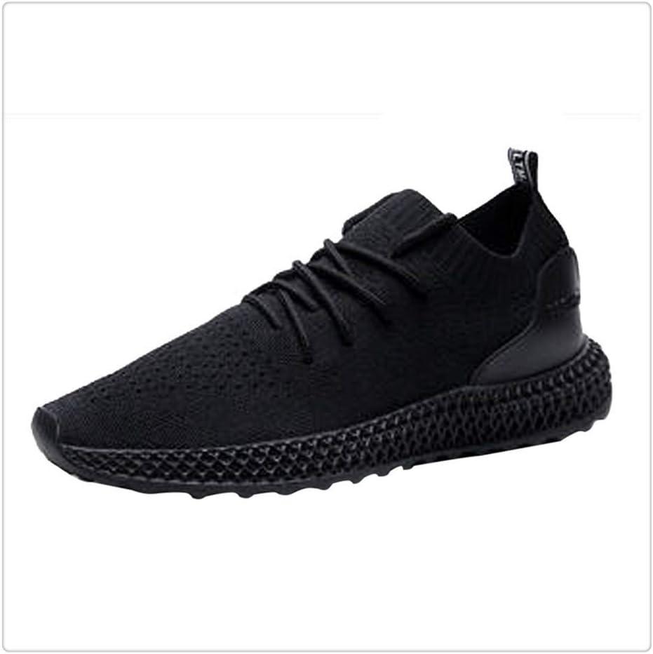 Jichuo Hombres zapatillas de deporte respirable ocasional