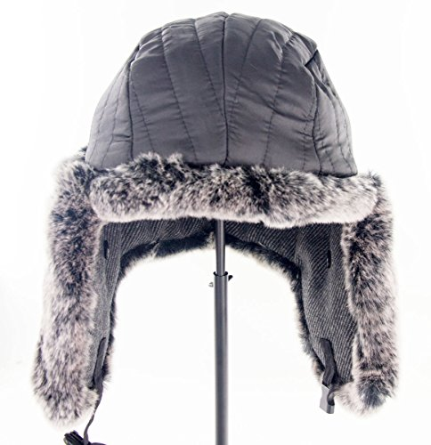 """Duolaimi Fashion Winter Bomber Hats for Adult (XL:Head Circumference 24 """" or 61 CM, B)"""