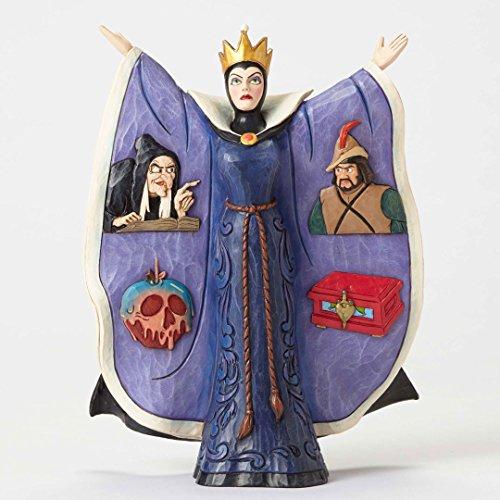 Disney Jim Shore Evil Intentions Snow White Evil Queen Figurine 4051990 New