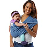 Baby K'tan ORIGINAL Baby Carrier, Denim, Small