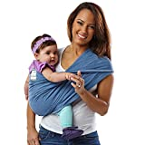 Baby K'tan Baby Carrier, Denim, Large