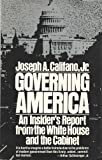Governing America, Joseph A. Califano and Jim Hardison, 0671254294