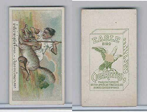 B116-151 BAT Eagle Cigarettes, Animals & Birds, 1912, 19 Wolf