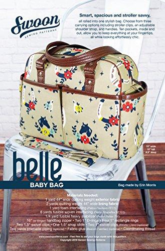 Swoon Belle Baby Bag Sewing Pattern Weekender Cross Body